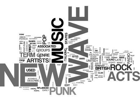 sheet music background: New Wave Music
