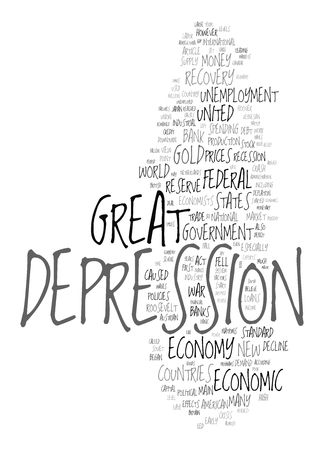 Great Depression - economic crisis Stock Photo - 12178064