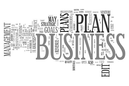 Business Plan concepts Stock Photo