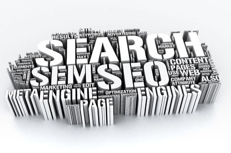 Search Engines and SEO (Search engine optimization) Stock Photo - 6687000
