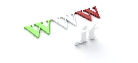 WWW. .IT - Italian Domain Stock Photo - 6765817