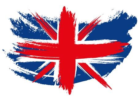 Schetched Union Jack Flag Stock Photo - 13776555
