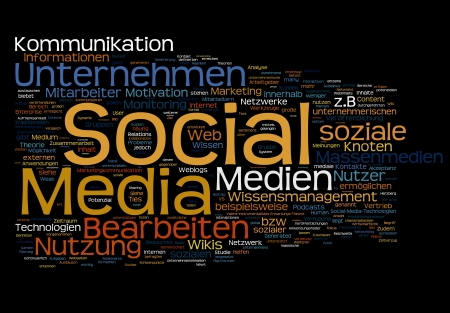 Social Media Communication photo