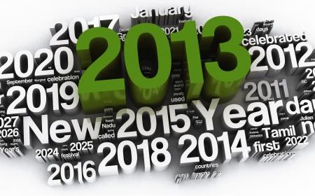 printables: 2013  Stock Photo