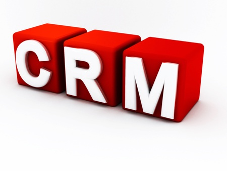 CRM - Customer Relationship Management  Stock Photo