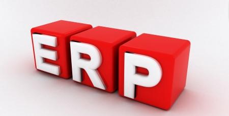 ERP - Enterprise Resource Planning Stock Photo - 16436039