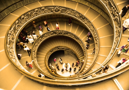 Spiral Staircase at the exit of the Vatican Museums