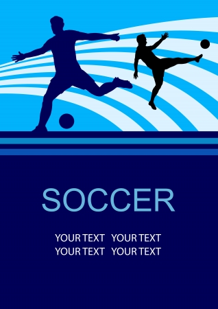 soccer sport poster background
