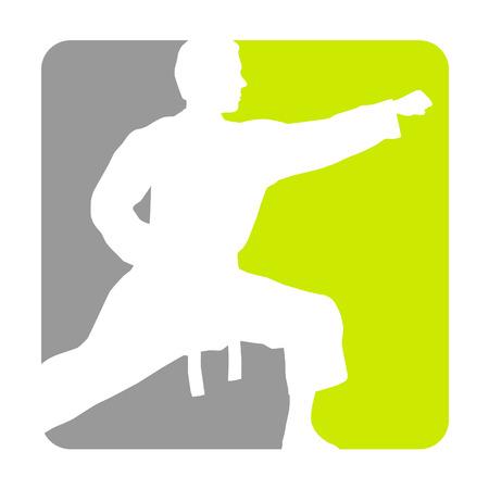 Illustration - karate sport   Illustration