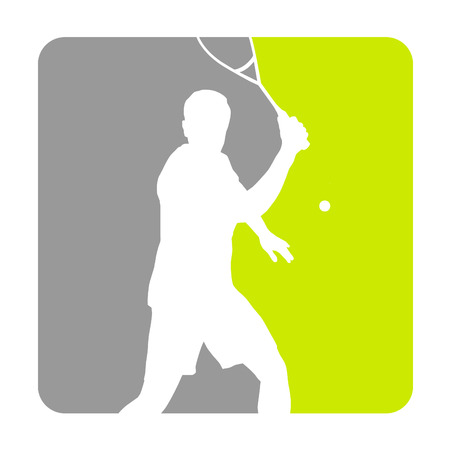 Illustration - Squash sport