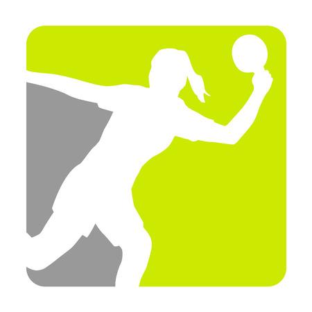 Illustration - table tennis sport