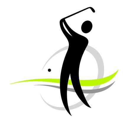 golfing: golf sport