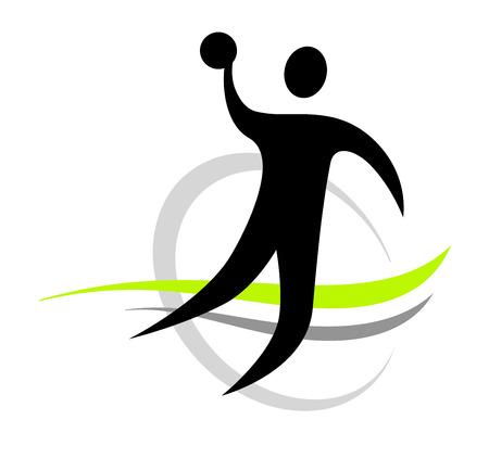 handball sport  Vector