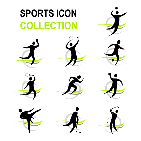 terrain de handball: collection sport