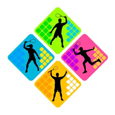 squash sport Фото со стока - 29120475