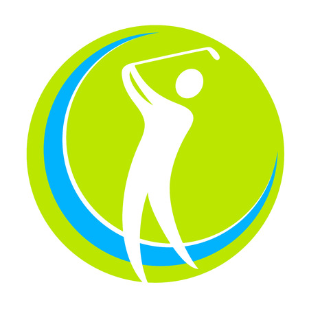 golf sport illustration