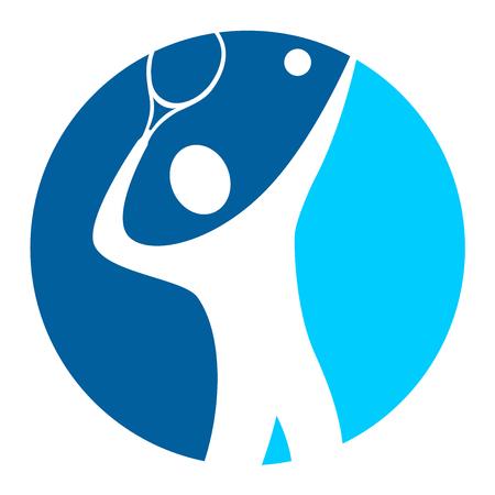 tennis player logo