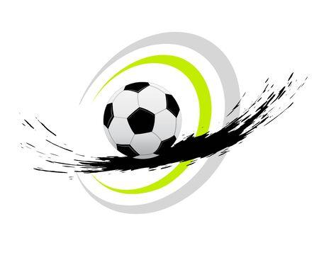 Soccer ball icon design