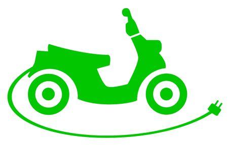 E-scooter vector illustration