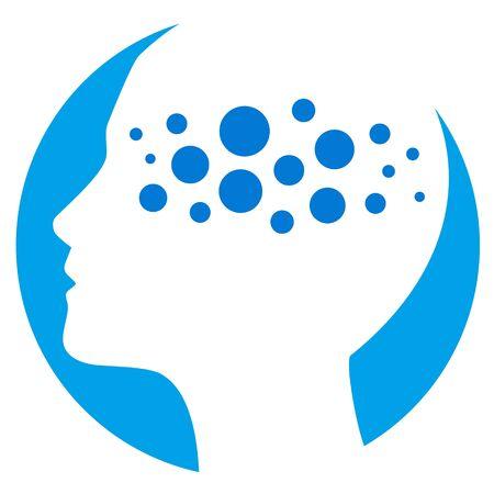 Psychology vector illustration
