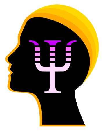 Psychology therapist icon vector illustration Illustration