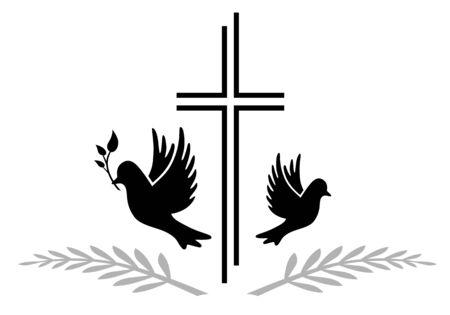 Memorial logo 版權商用圖片 - 133736726