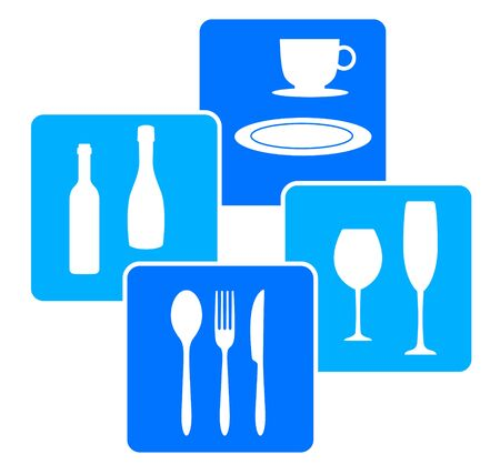Restaurant icon vector illustration