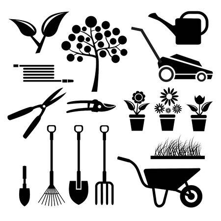 Garden equipment vector illustration 向量圖像