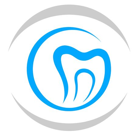Dentist vector logo Stock Illustratie