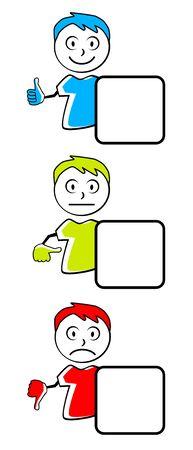 Emoticon icon vector illustration Ilustrace