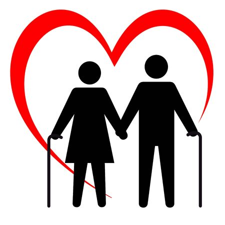 Health care vector logo Illustration