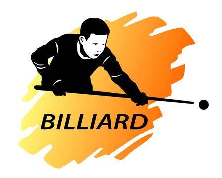 Billiard sport graphic in vector quality 向量圖像
