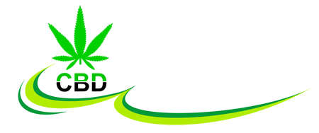 Cannabis graphic in vector quality.
