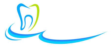 Dentistry logo in vector quality.