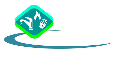 Sanitary service graphic in vector quality. 向量圖像