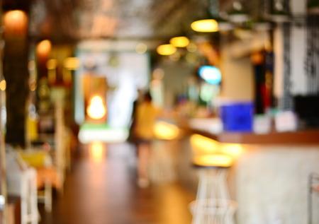 blur bar or restaurant background