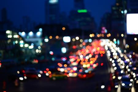 lur city light on street at night photo