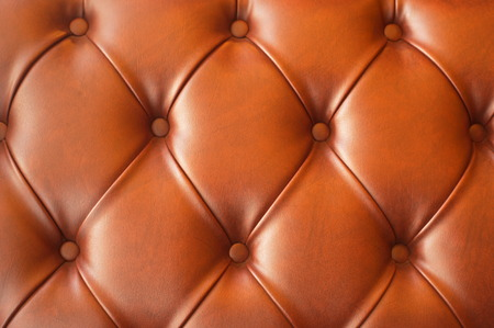 old furniture: vintage brown leather of sofa texture