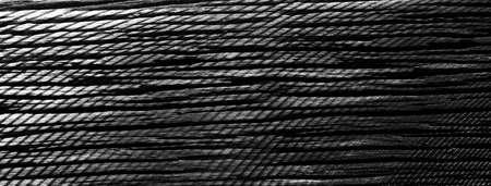 dark black aged wood floor and metal blend banner texture background