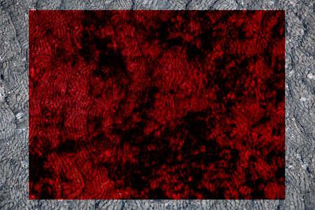 mystery dark red black rough velvet fabric rectangular frame background