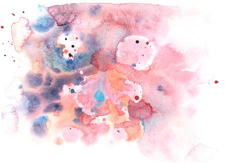 aquarel abstractie achtergrond delicate zachte, glinsterende aquarellen