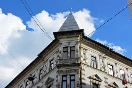 obuda: An old building of 19th at Buda