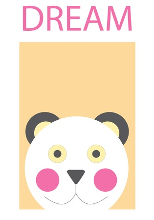 Illustrated bear Ilustrace