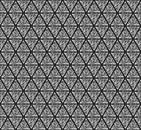Background pattern composed of triangular diamonds. High resolution 3D image photo