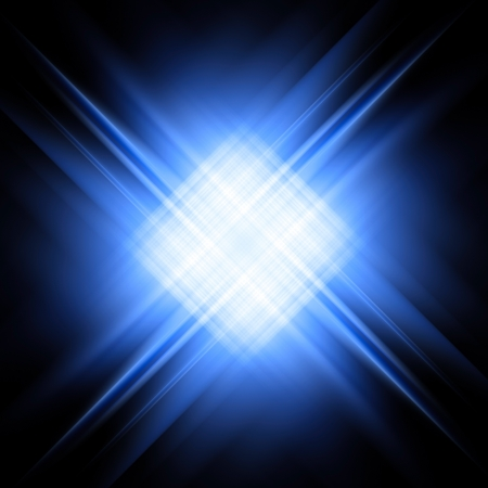 saturated color: Abstract background of diagonal blue and white rays on black  High resolution 3D image
