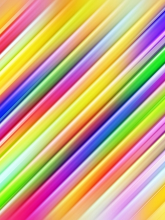 diagonal lines: Abstract background of colorful diagonal pipes. High resolution 3D image