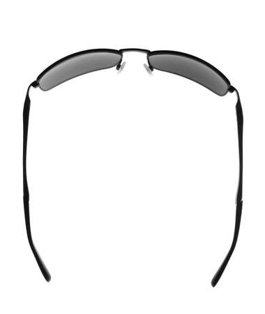 Black Fashion Glasses isolated on a white background....