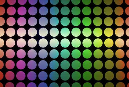 抽象的な水玉虹 写真素材