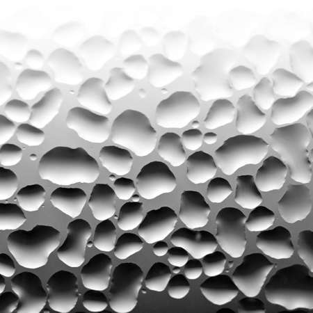 Texture from liquid drops on glass (Looks like a rendering)