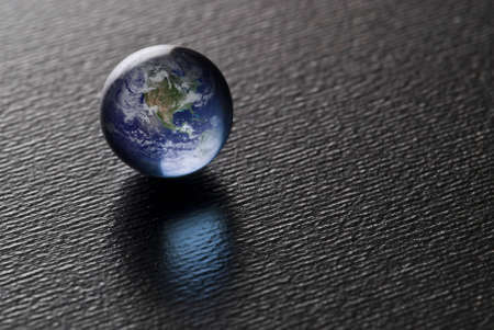 A Blue Pearl on black (Credit for the Blue Marble goes to NASA) Image found at http://visibleearth.nasa.gov/ Stock Photo - 1886993